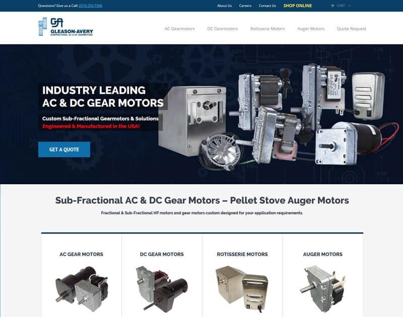 Manufacturing Ecommerce Web Design