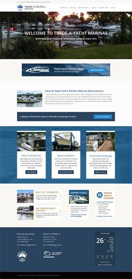 marina web design syracuse ny