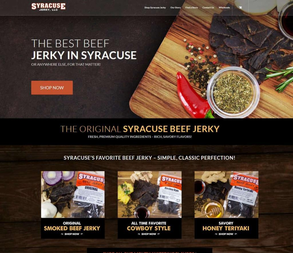 eCommerce Web Design Syracuse NY