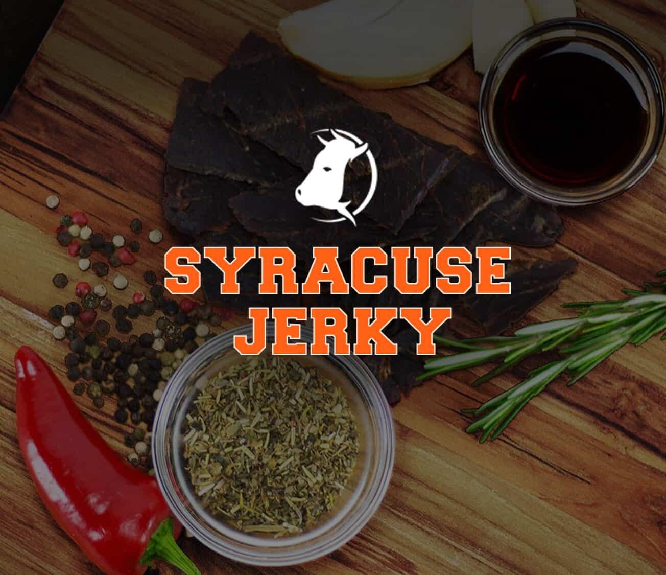 Syracuse Jerky, ATS Web Design Syracuse Portfolio