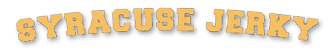 Syracuse Jerky website design