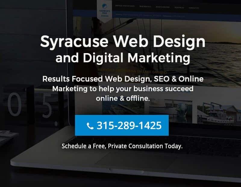Syracuse NY Web Design SEO ECommerce Specialists